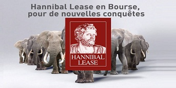 Hannibal Lease - Opérations d'augmentation par incorporation de réserves et de réduction du capital pour le porter à 55 MDT